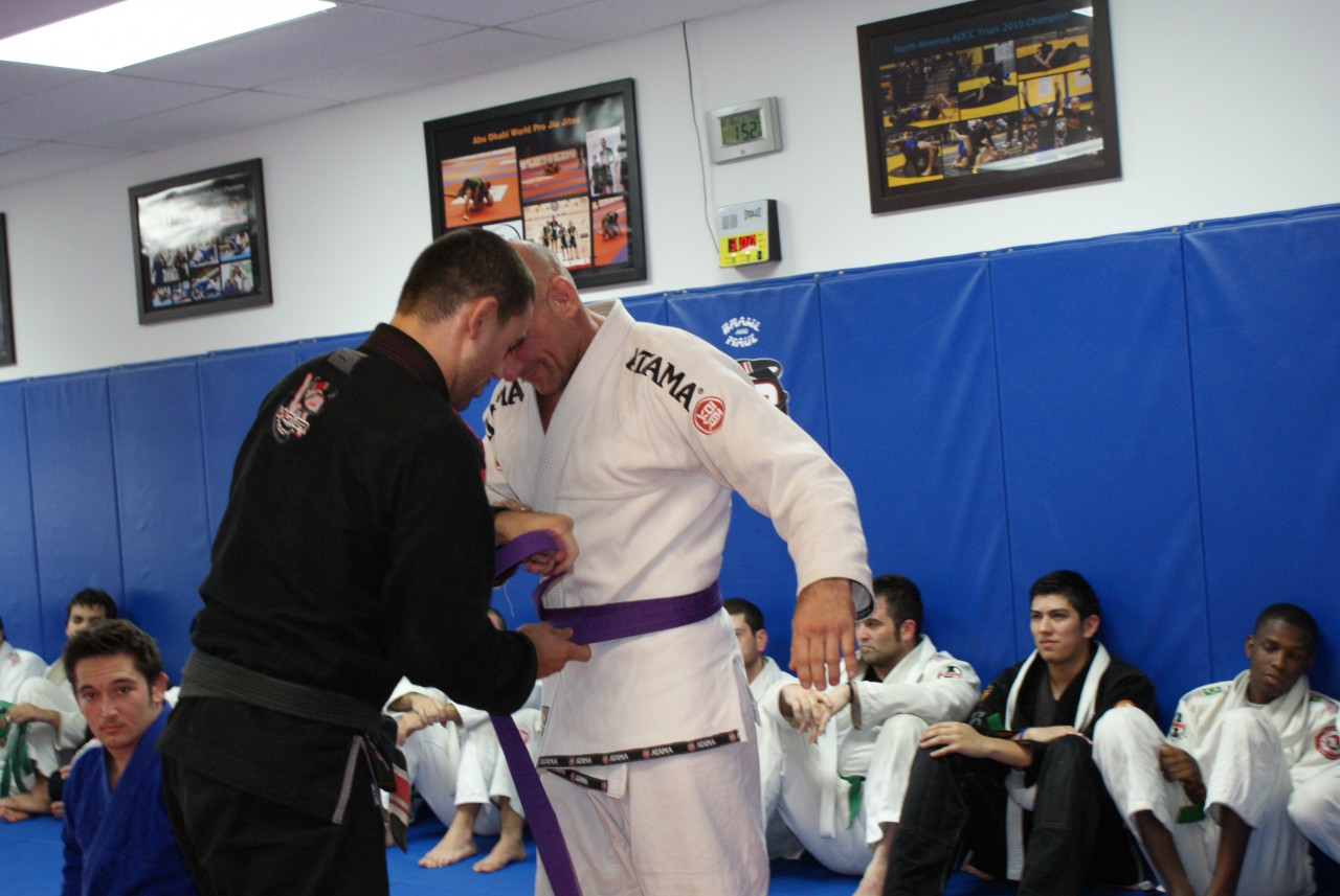 last belt promotion of 2012 vagner rocha martial arts and special congrats to willian jonhson curtis porter paul goodkin for being promoted to purple belt and carlos vargas for getting his