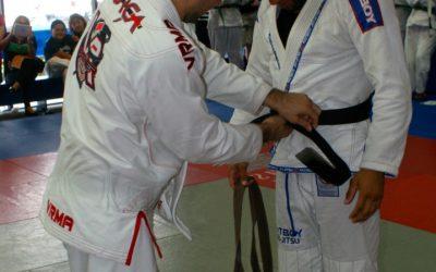 Jim Alers promoted to Brazilian Jiu Jitsu Black Belt