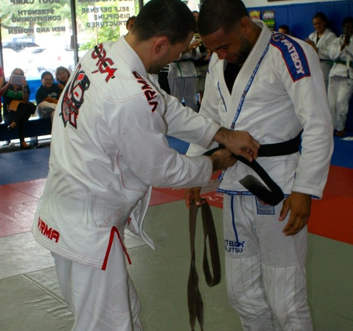 Jim Alers promoted to Brazilian Jiu Jitsu Black Belt