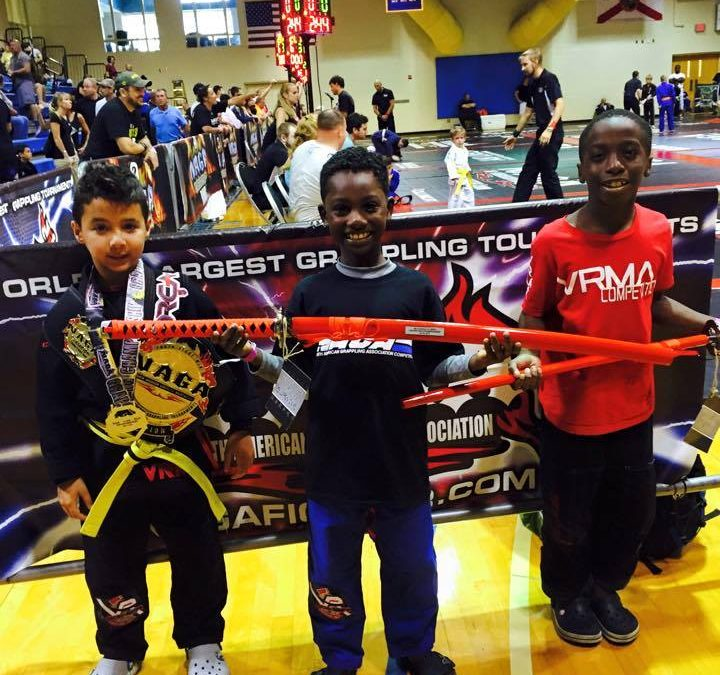 NAGA Champions – VRMA Jiu Jitsu Kids