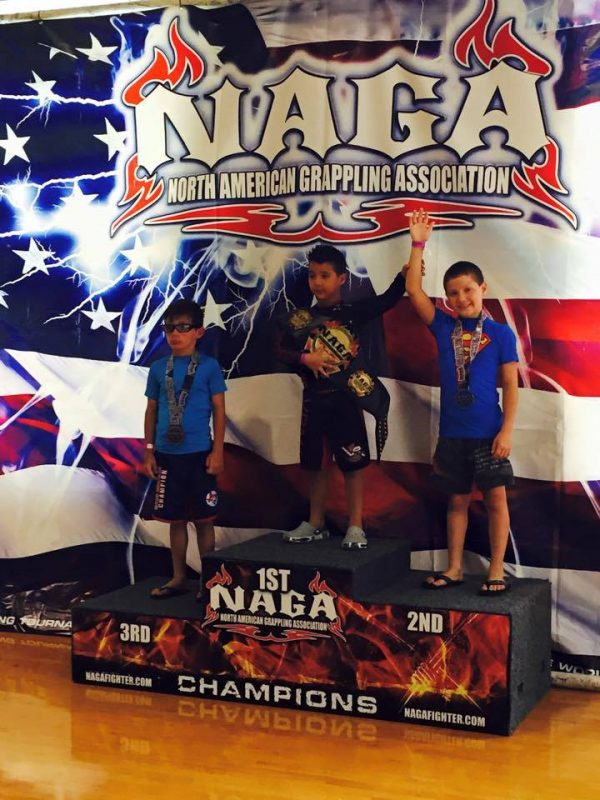 Bryan Picallo winning 1st Place No Gi Division
