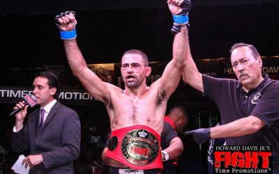 Vagner Rocha makes history with Fight Time Promotions