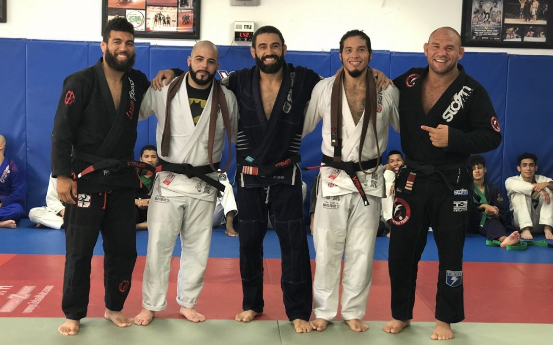 Professor Vagner Rocha Promotes 2 New Black Belts