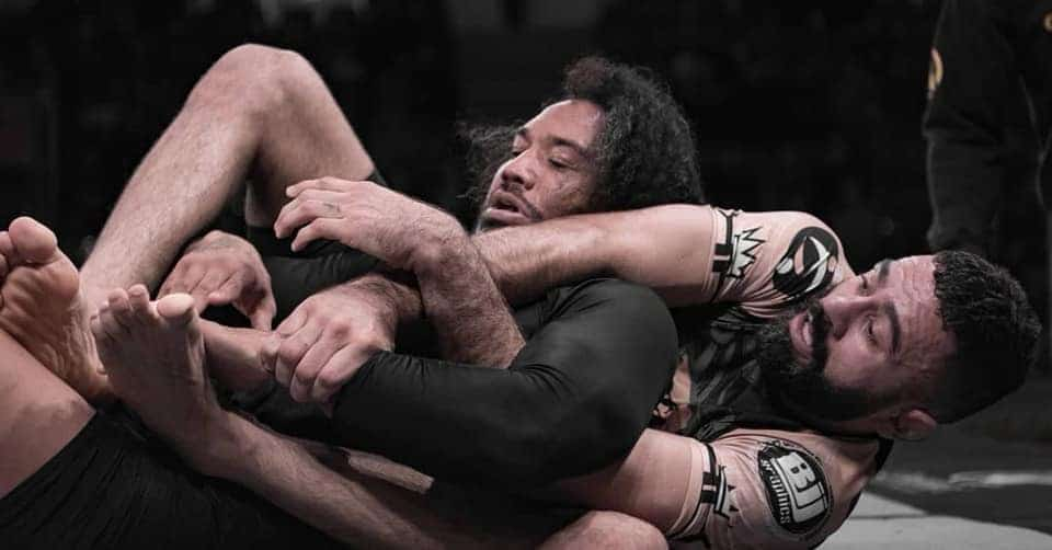 Vagner Rocha def. Ben Henderson via submission at Polaris 8